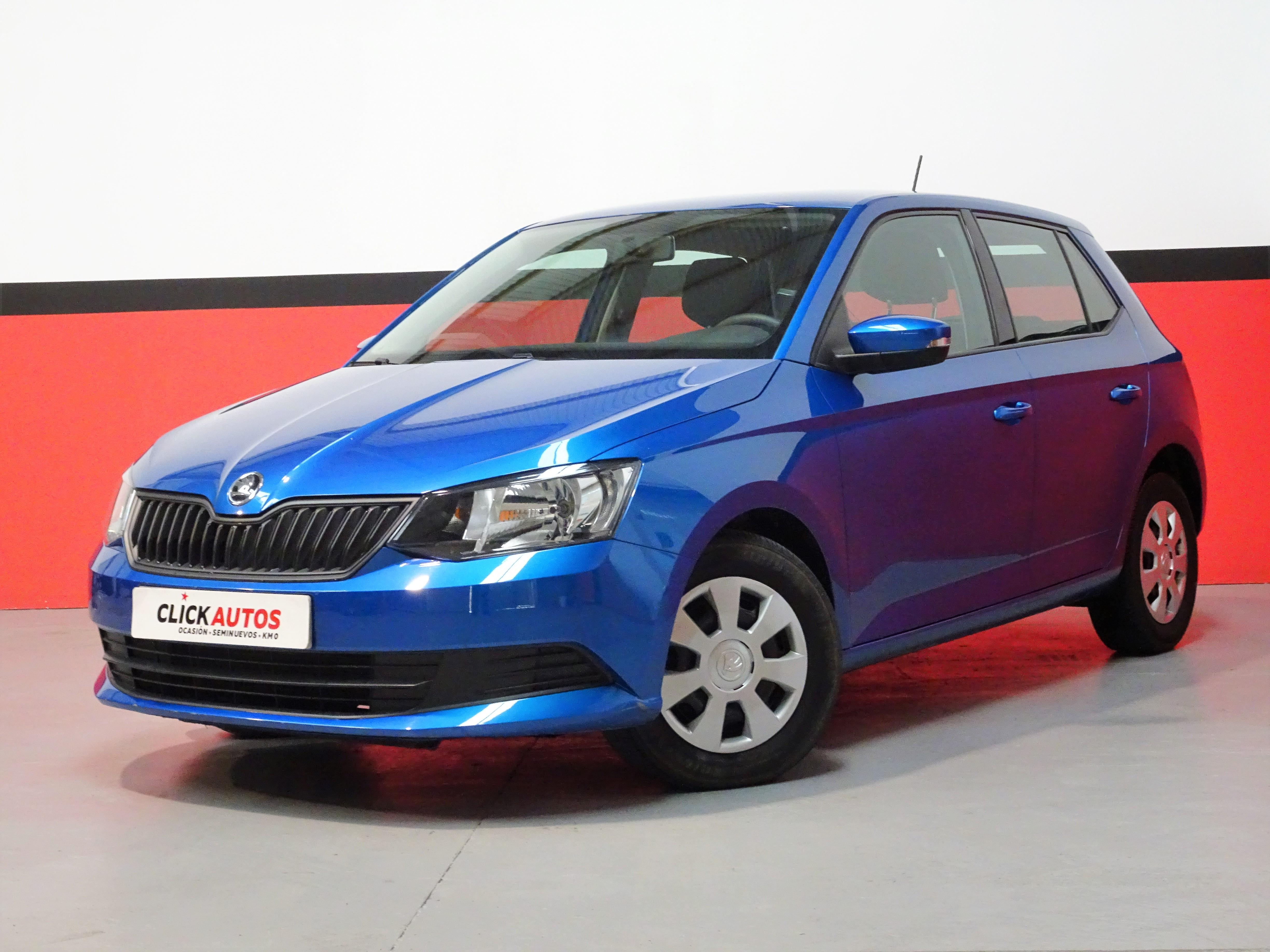 clickautos ficha skoda fabia 1 0 mpi 60cv active. Black Bedroom Furniture Sets. Home Design Ideas